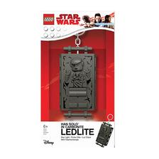 LEGO Star Wars Han Solo Széntömbbe fagyasztva világító kulcstartó
