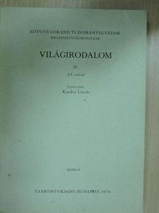 B. Mészáros Vilma - Világirodalom IV. [antikvár]