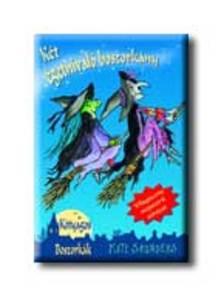 Kate Saunders - Két égetnivaló boszorkány - kótyagos boszorkák - puha borítós