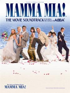 ABBA - MAMMA MIA! THE MOVIE SOUNDTRACK, THE SONGS OF ABBA FOR PIANO, VOCAL & GUITAR