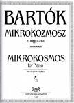BARTÓK  - MIKROKOZMOSZ ZONGORÁRA 4., JAVÍTOTT KIADÁS (BARTÓK PÉTER)