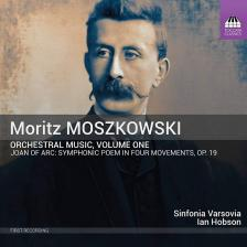 MOSZKOWSKI - ORCHESTRAL MUSIC VOL.1 CD HOBSON