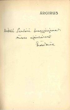 Erdős Renée - Árgirus (dedikált) [antikvár]