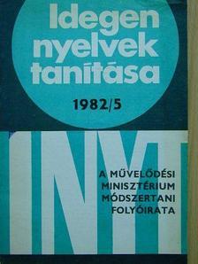 Dr. Banó István - Idegen nyelvek tanítása 1982/5. [antikvár]