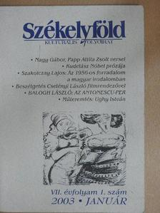 Bíró Béla - Székelyföld 2003. január [antikvár]
