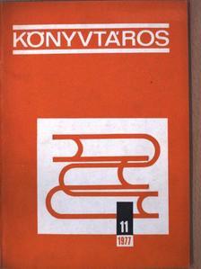 Albert Gábor - Könyvtáros 1977. november [antikvár]