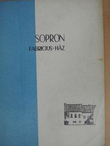 Sallay Marianne - Sopron, Fabricius-ház [antikvár]