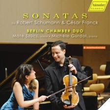 SCHUMANN, CÉSAR FRANCK - SONATAS CD BERLIN CHAMBER DUO