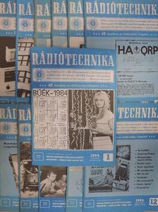 Garai Barnabás - Rádiótechnika 1984. január-december [antikvár]