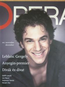 Becze Szilvia - Opera 2012. november-december [antikvár]