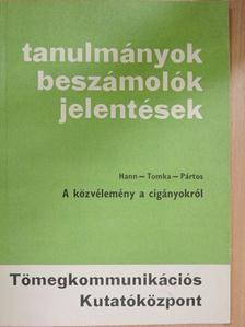 Hann Endre - A közvélemény a cigányokról [antikvár]
