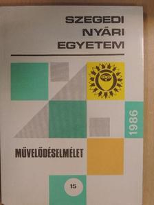 Balogh Tibor - Szegedi Nyári Egyetem 1986 [antikvár]