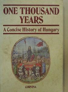 Benda Kálmán - One Thousand Years [antikvár]