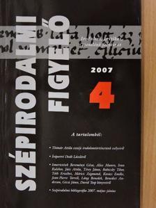 Buda Attila - Szépirodalmi Figyelő 2007/4. [antikvár]