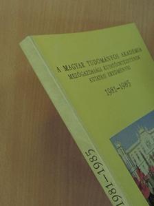Baldaszti László - A Magyar Tudományos Akadémia Mezőgazdasági Kutatóintézetének kutatási eredményei 1981-1985 [antikvár]
