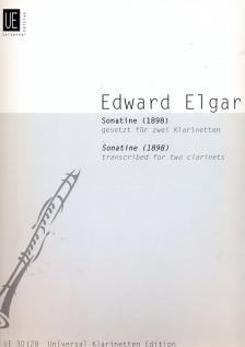 ELGAR, EDWARD - SONATINE (1898) GESETZT FÜR ZWEI KLARINETTEN (PAMELA WESTON)