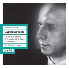 Puccini - GIANNI SCHICCHI CD MITROPOULOS