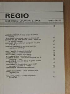 Duray Miklós - Regio 1990. április [antikvár]