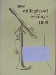 Kun Mária - Meteor csillagászati évkönyv 1992 [antikvár]