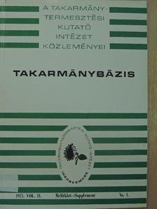 Gaál László - Takarmánybázis 1971/1. Melléklet-Supplement [antikvár]