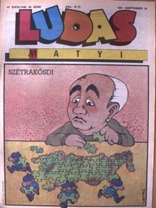Gyöngy Kálmán - Ludas Matyi 1991. szeptember 25. [antikvár]