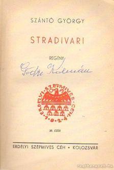 Szántó György - Stradivari [antikvár]