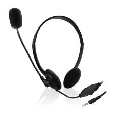 Ewent EW3567 Mikrofonos fejhallgató okostelefonokhoz és tabletekhez