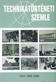 Szabadváry Ferenc - Technikatörténeti Szemle XXIV. 1999-2000 [antikvár]