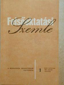 Felsőoktatási Szemle 1985. (nem teljes évfolyam) [antikvár]