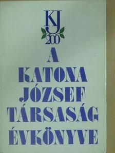 Dr. Tapasztóné Perlaki Magdolna - A Katona József Társaság évkönyve 1991 [antikvár]