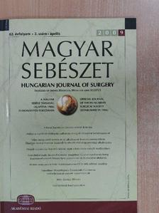 Banai János - Magyar Sebészet 2009. április [antikvár]