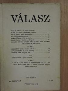 Farkas Ferenc - Válasz 1947. július [antikvár]