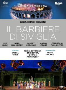 ROSSINI - IL BARBIERE DI SIVIGLIA DVD OREN