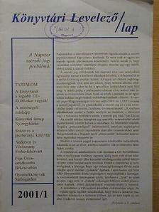 Kovácsné Komáromi Edit - Könyvtári Levelező/lap 2001. január-december [antikvár]