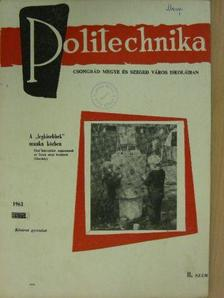 Darida - Politechnika 1963/8. [antikvár]