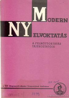 Szépe György - Modern nyelvoktatás XVII. évf. 1. szám [antikvár]