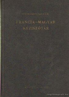 Eckhardt Sándor - Francia-magyar kéziszótár [antikvár]