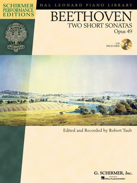 BEETHOVEN - TWO SHORT SONATAS OP.49, CD INCLUDED