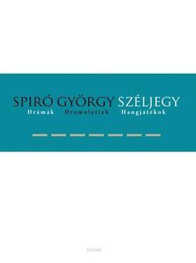 Spiró György - Széljegy - ÜKH 2019