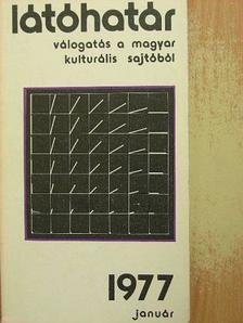 Almási Miklós - Látóhatár 1977. január [antikvár]