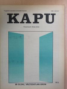 Beke Albert - Kapu 1990. március [antikvár]