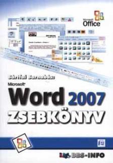 BÁRTFAI BARNABÁS - WORD 2007 ZSEBKÖNYV<!--/H/-->