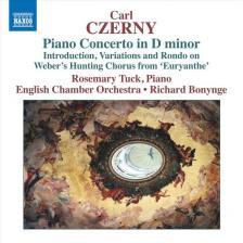 CZERNY - PIANO CONCERTO IN D MINOR,CD
