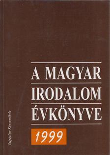 Buda Attila - A magyar irodalom évkönyve 1999 [antikvár]