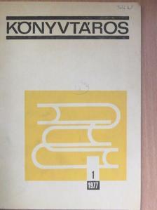 Arató Antal - Könyvtáros 1977. január [antikvár]