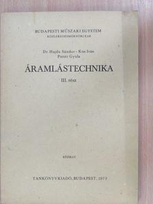 Dr. Hajdu Sándor - Áramlástechnika III. [antikvár]