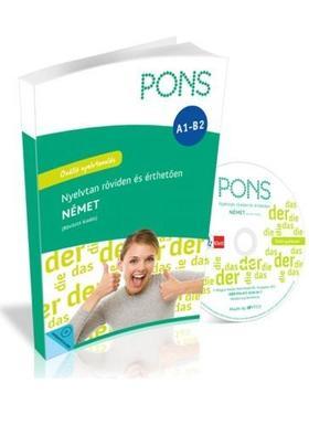 Pons - PONS Nyelvtan röviden és érthetően NÉMET + CD-Rom (bővített kiadás)