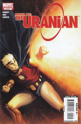 Parker, Jeff, Ruiz, Felix - Marvel Boy: The Uranian No. 1 [antikvár]