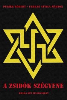 Puzsér Róbert - Farkas Attila Márton - A zsidók szégyene [eKönyv: epub, mobi]