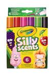 Crayola 6 Vágott Hegyű Illatos filct.